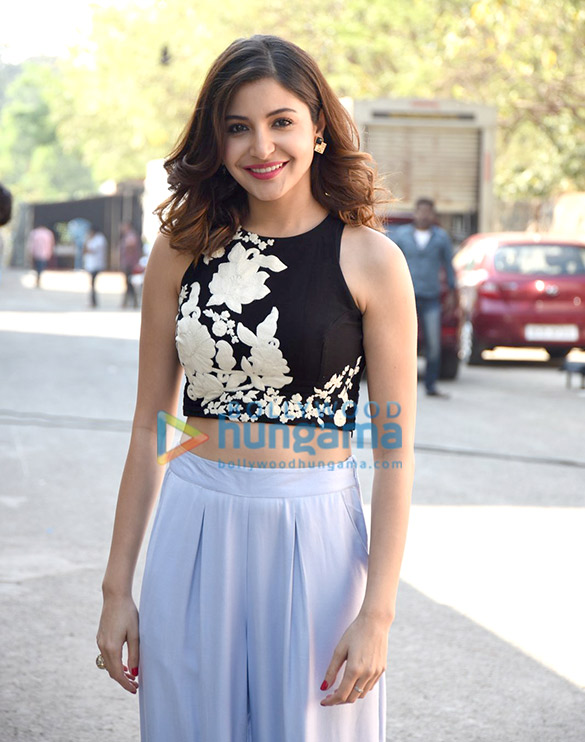 Anushka Sharma snapped during 'NH10's promotions