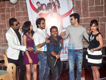 Gunjan Malhotra, Karan Mehra, Sharib Hashmi, Sidhant Gupta, Suzanna Mukherjee