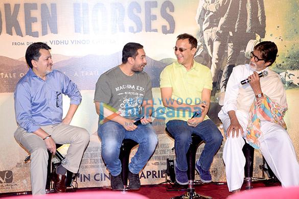 Trailer launch of 'Broken Horses'