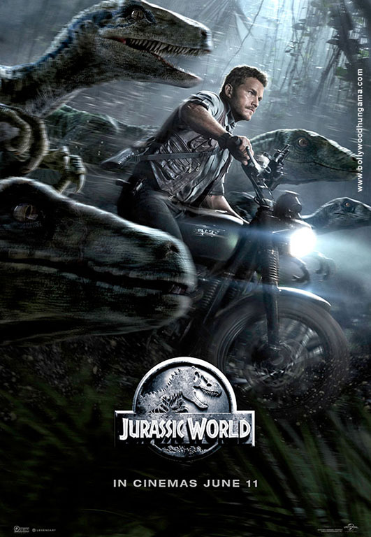 Jurassic World Cover