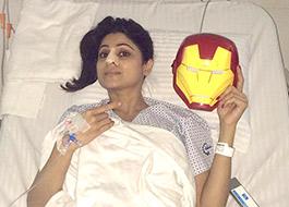 Shamita Shetty fractures her nose during Jhalak's rehearsals