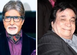 Amitabh Bachchan 'welcomes' Kader Khan