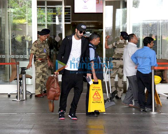 Ranbir Kapoor comes back from 'Ae Dil Hai Mushkil' shoot