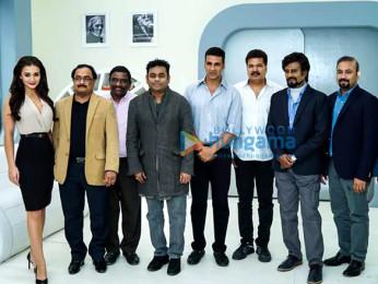 Amy Jackson, A R Rahman, Akshay Kumar, S Shankar, Rajinikanth