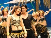 Movie Still From The Film Billu,Kareena Kapoor,Shahrukh Khan