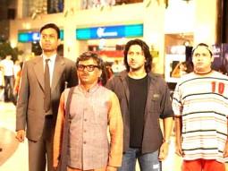 Movie Still From The Film Krazzy 4,Irrfan Khan,Rajpal Yadav,Arshad Warsi,Suresh Menon