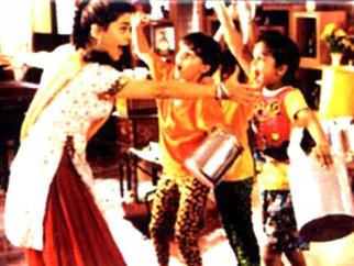 Movie Still From The Film One 2 Ka 4 Featuring Juhi Chawla