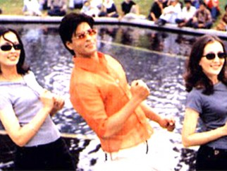 Movie Still From The Film One 2 Ka 4 Featuring Shahrukh Khan