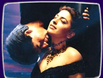 Movie Still From The Film Phir Bhi Dil Hai Hindustani Featuring Shahrukh Khan,Juhi Chawla