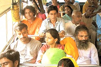 Movie Still From The Film Swades Featuring Shahrukh Khan,Daya Shanker Pandey