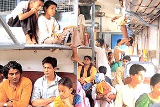 Movie Still From The Film Swades Featuring Shahrukh Khan,Daya Shanker Pandey