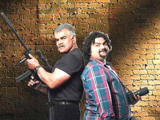 Movie Still From The Film Bumboo,Sharat Saxena,Kavin Dave