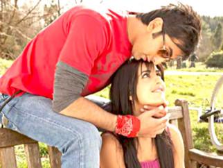 Movie Still From The Film Ajab Prem Ki Ghazab Kahani,Ranbir Kapoor,Katrina Kaif
