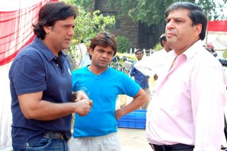 On The Sets Of The Film Banda Yeh Bindaas Hai Featuring Govinda