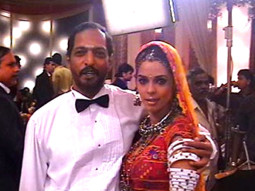 On The Sets Of The Film Welcome Featuring Mallika Sherawat,Nana Patekar