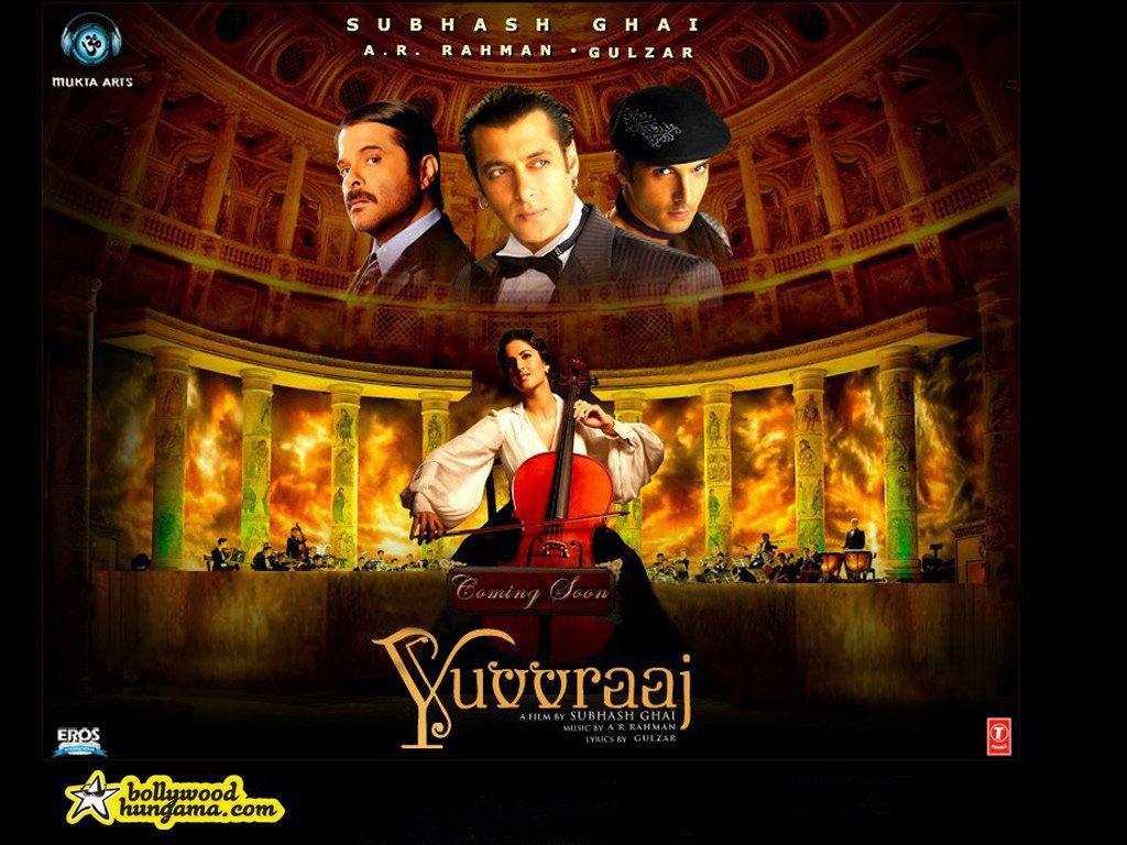 Anil Kapoor,Katrina Kaif,Salman Khan,Zayed Khan