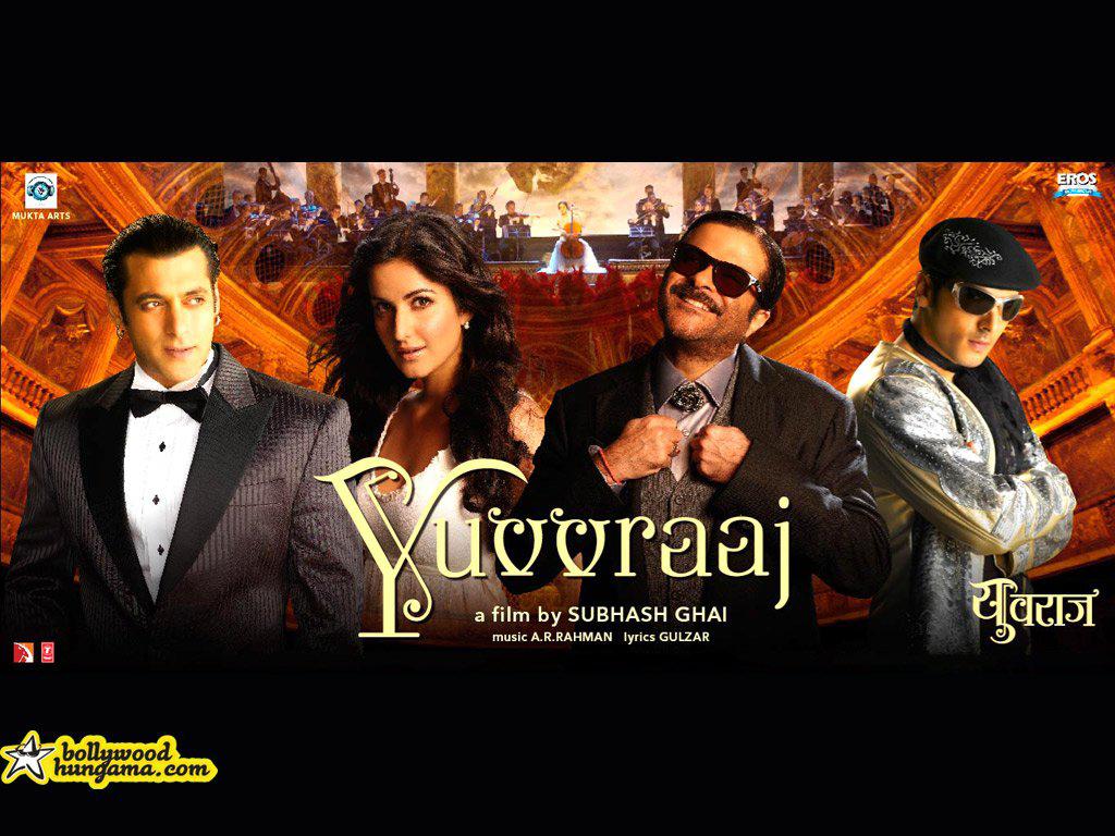Salman Khan,Katrina Kaif,Anil Kapoor,Zayed Khan