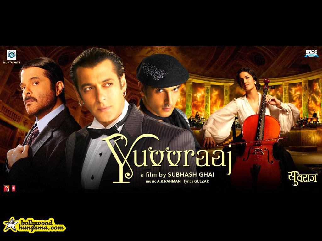 Anil Kapoor,Salman Khan,Zayed Khan,Katrina Kaif