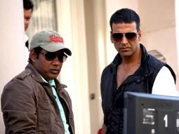 On The Sets Of The Film Kambakkht Ishq Featuring Akshay Kumar