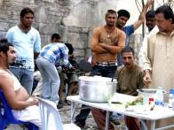 On The Sets Of The Film Chandni Chowk To China Featuring Akshay Kumar,Mithun Chakraborty
