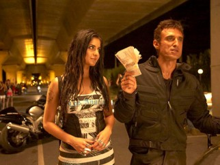 Movie Still From The Film Blue,Katrina Kaif,Rahul Dev
