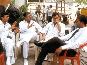 On The Sets Of The Film Aitraaz Featuring Akshay Kapoor