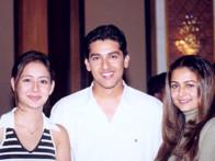On The Sets Of The Film Awara Paagal Deewana Featuring Aarti Chabria,Aftab Shivdasani,Amrita Arora