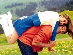 Movie Still From The Film Ajnabee Featuring Kareena,Bobby,Akshay,Bipasha Basu