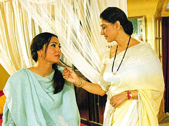 Movie Still From The Film Andaaz Featuring Lara Dutta,Beena