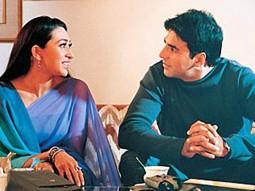 Movie Still From The Film Haan Maine Bhi Pyaar Kiya Featuring Karisma Kapoor,Akshay Kumar