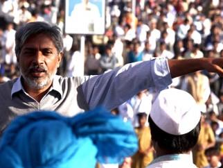 On The Sets Of The Film Raajneeti Featuring Prakash Jha