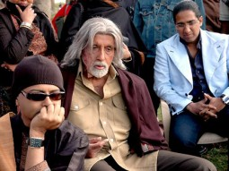 On The Sets Of The Film The Last Lear Featuring Amitabh Bachchan