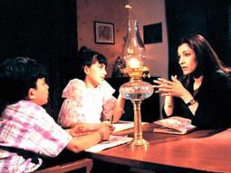 Movie Still From The Film Hum Kaun Hai,Dimple Kapadia