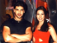 On The Sets Of The Film Aetbaar Featuring John Abraham,Bipasha Basu