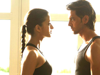 Movie Still From The Film Dhoom 2,Aishwarya Rai,Hrithik Roshan