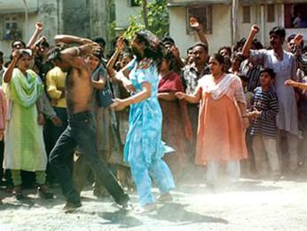 Movie Still From The Film Insaaf