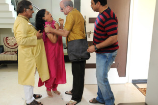 Movie Still From The Film Chhodo Kal Ki Baatein,Anjan Srivastava,Sachin Khedekar,Anupam Kher