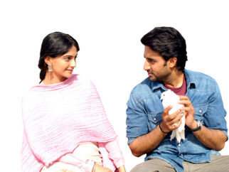 Movie Still From The Film Delhi-6,Sonam Kapoor,Abhishek Bachchan