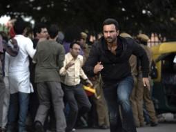 Movie Still From The Film Agent Vinod,Saif Ali Khan