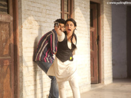 Movie Still From The Film Ishaqzaade,Arjun Kapoor,Parineeti Chopra