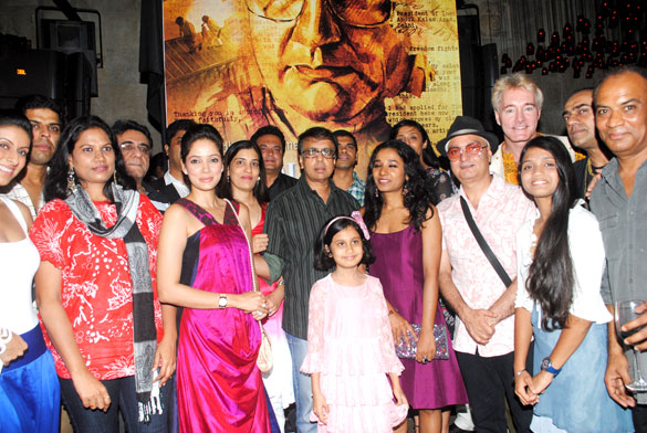 Photo Of Murli Sharma,Naresh Suri,Vidya Malvade,Bindiya Khanolkar,Anant Mahadevan,Tannishtha Chatterjee,Achint Kaur,Vinay Pathak,Gary Richardson,Rajat Kapoor,Vipin Sharma From The Wrap up & first look launch party of 'Gour Hari Dastaan'