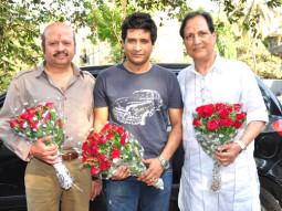 On The Sets Of The Film Baniye Ki Moonchh Featuring Rajesh Roshan,K K,Sawan Kumar Tak