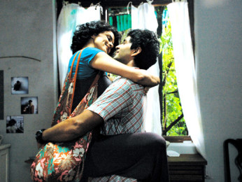 Movie Still From The Film Fatso,Gul Panag,Purab Kohli