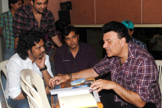 Photo Of Nakash Sargam,Guru Thakur,Anu Malik From The Anu Malik sang Marathi song for 'No Entry Pudhe Dhoka Aaahey'