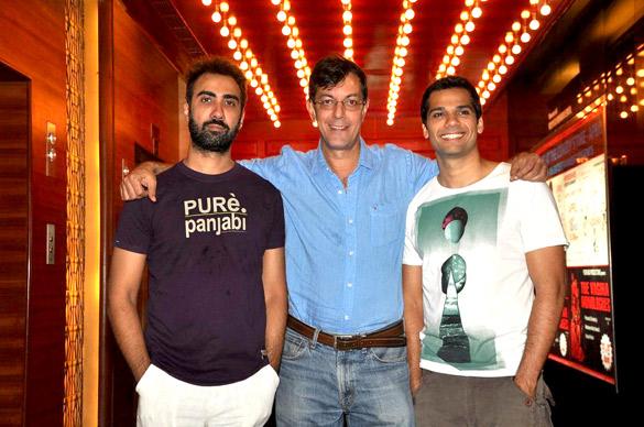 Ranvir, Rajat and Konkona promote 'Fatso'
