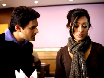 Movie Still From The Film Second Marriage Dot Com,Vishal Nayak,Sayani Gupta