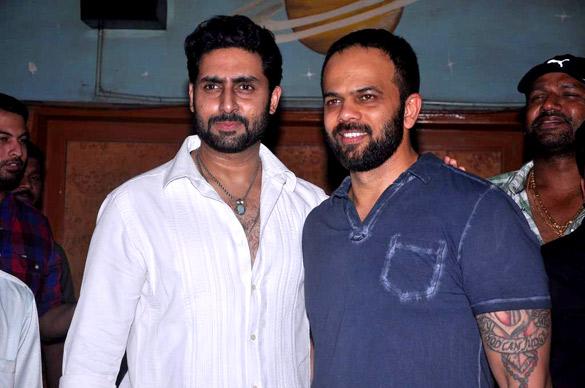 Abhishek meets fans at 'Bol Bachchan' screening