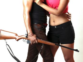 Movie Still From The Film Qayamat Hi Qayamat,Prakash Sagar,Ester Noronha