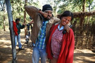 On The Sets Of The Film Aalaap Featuring Manish Manikpuri