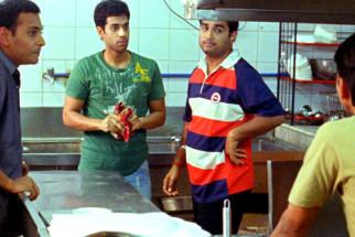 Movie Still From The Film Shuttlecock Boys,Vijay Prateek,Manish Nawani,Aakar Kaushik